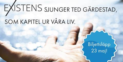 För kärlekens skull. Existens sjunger Ted Gärdestad. Turinge kyrka.