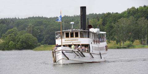 Ångbåt Stockholm Mariefred – Ångfartyget s/s Mariefred