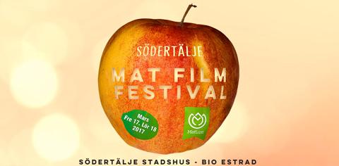Matfilmfestival i Södertälje, Sörmland. Mälardalen.