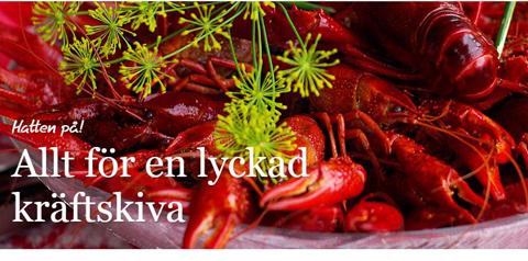 Ica Nykvarn – Bjud in till kräftskiva. Tips och recept.