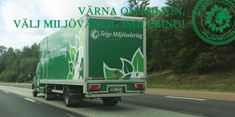 Telge Miljöisolering Nykvarn Sörmland. Vi erbjuder miljövänlig cellulosaisolering.