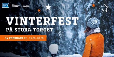 Södertälje Vinterfest på Stora torget