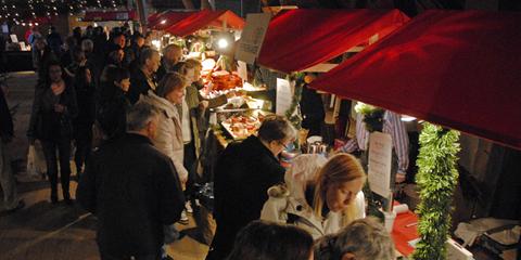 Julmarknad och julmässa på Taxinge slott 2014