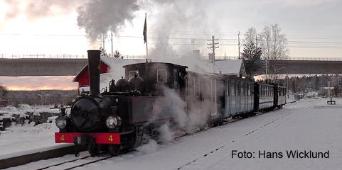 Res med ÖSlJ ångtåg till Taxinge slott julmarknad