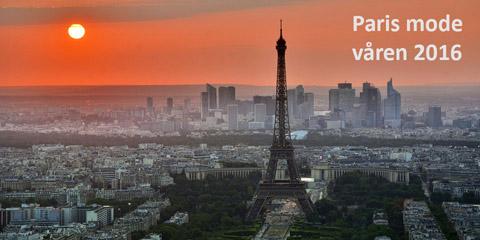 Vårmode från Paris till Hedlandet i Mariefred