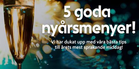 Gott Nytt År! Tips om nyårsmenyer hos ICA Supermarket Nykvarn