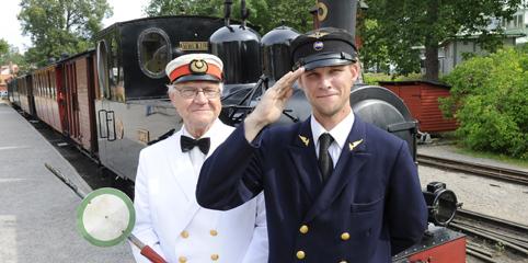 Ångtåg och ångbåt Mariefred Taxinge. Heldags utflykt i Sörmland